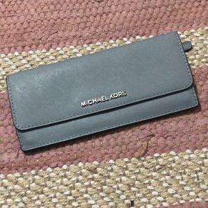 Powder Blue Michael Kors Wallet